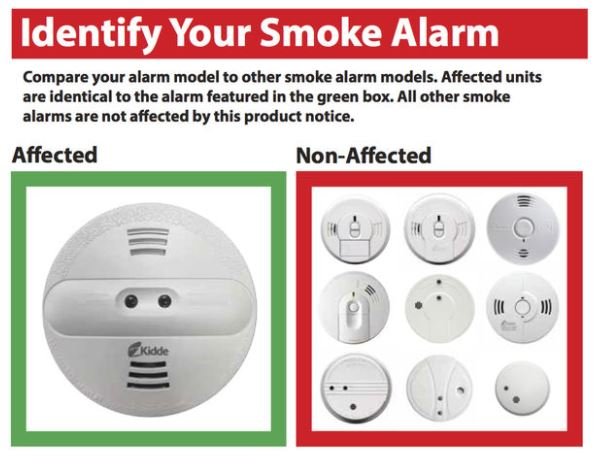 Important Smoke Alarm Recall Notice
